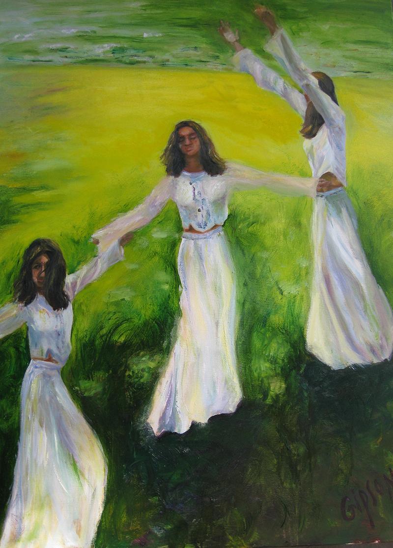 Dance in Verdant Pasture