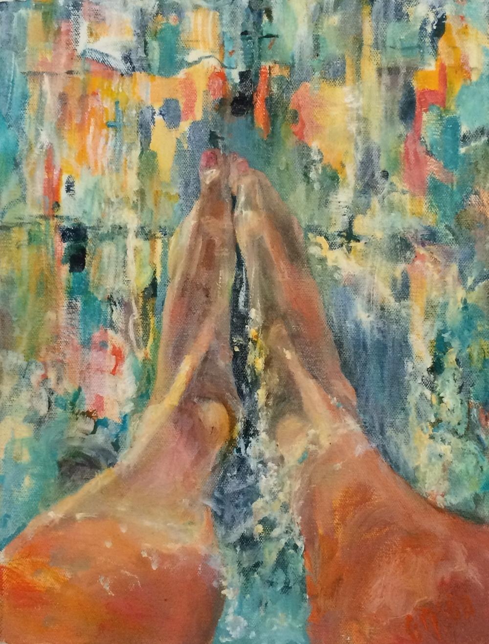 Feet-a-prayin'