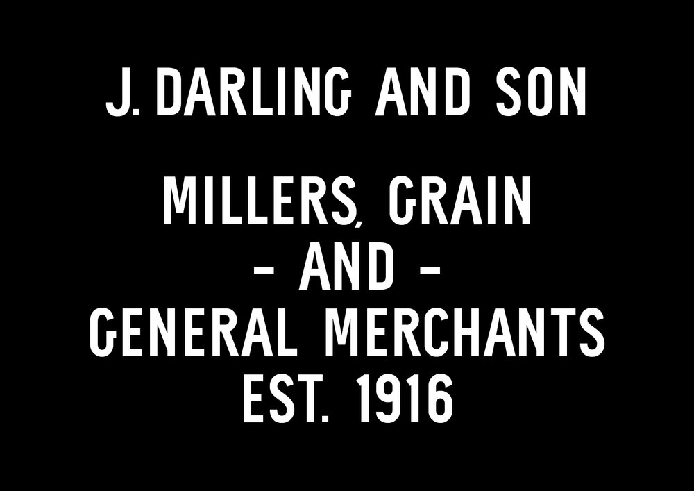 Darling Building commissioned me to work on this custom typeface to celebrate the history of their building dating back to 1916.