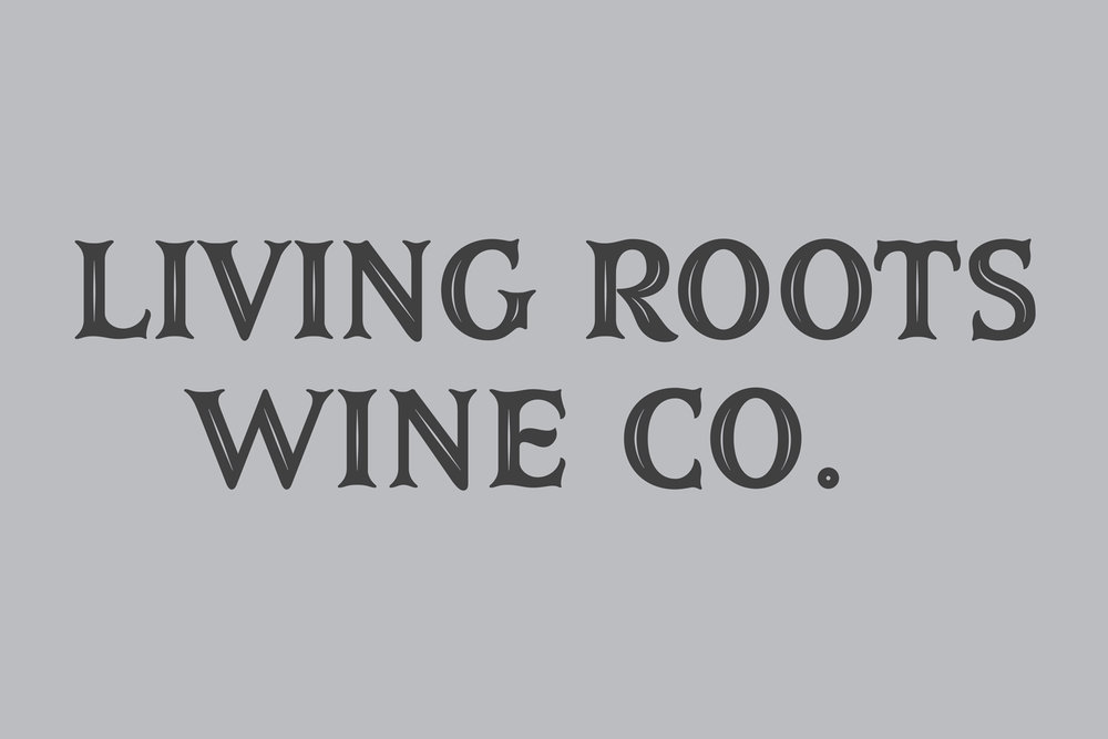 Logotype and Font development for Living Roots Wine & Co.