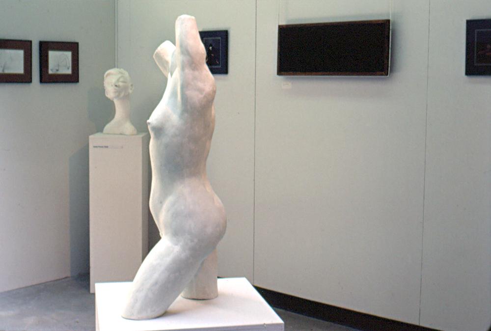Grad Exhibit (White Nude)