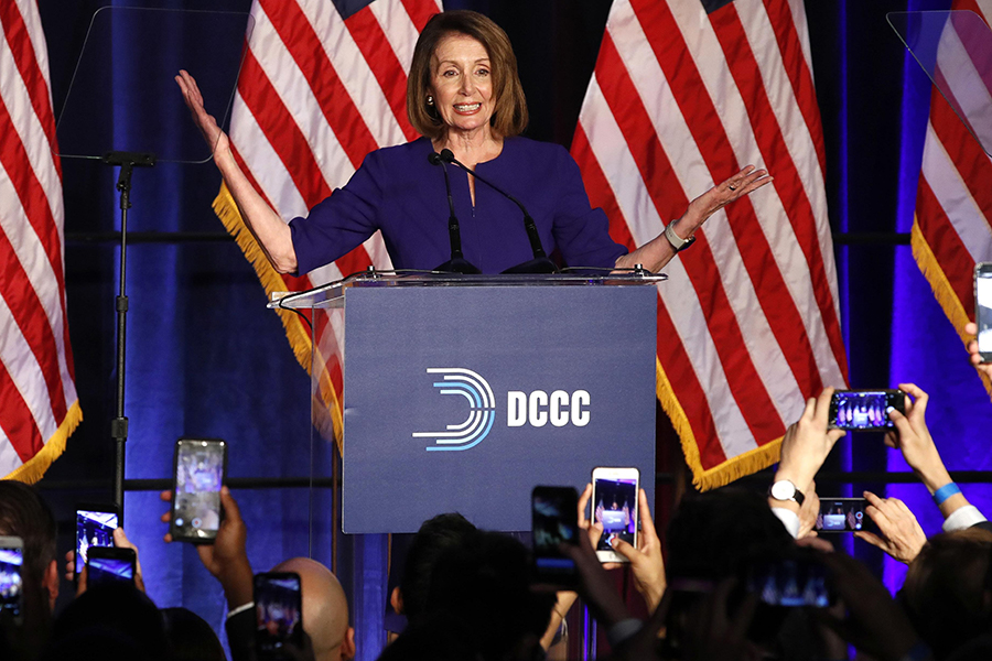Nancy Pelosi, Speaker of the United States House of Representatives