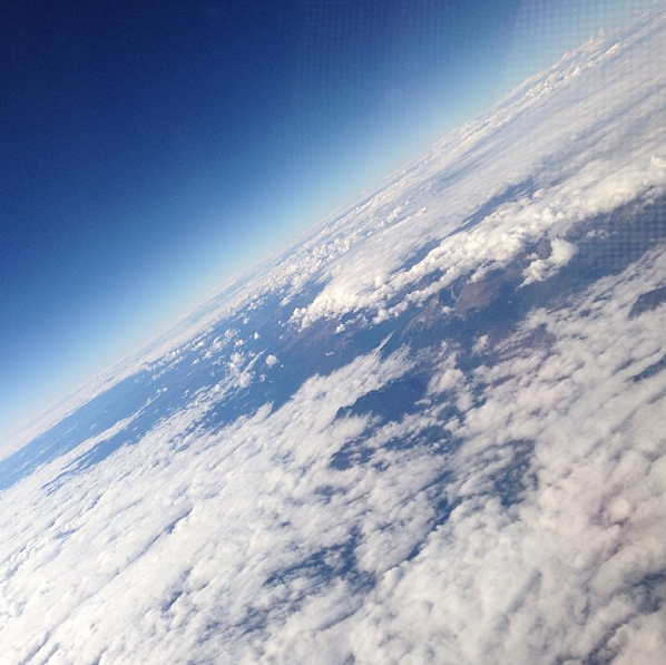 Somewhere over America, 2013.