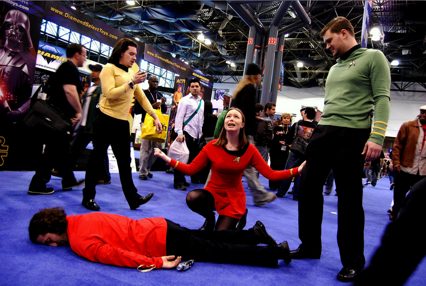 Red Shirt Massacre by Alex Erde on Flickr (CC-BY).