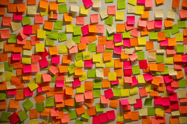 """Post-it Time"" by Ignacio Palomo Duarte. CC 2.0 Attribution. View on Flicker."