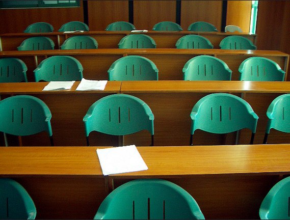 Classroom Chairs by Eric Sarmiento on Flickr CC 2.0
