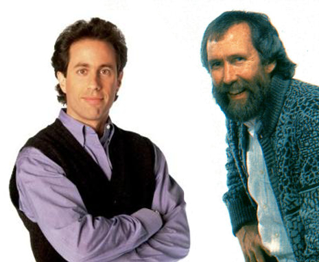 Mashed up photos from Muppet Wiki and Seinfeld Wiki