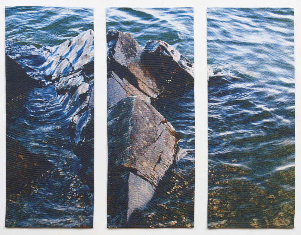 Lake Rock Triptych