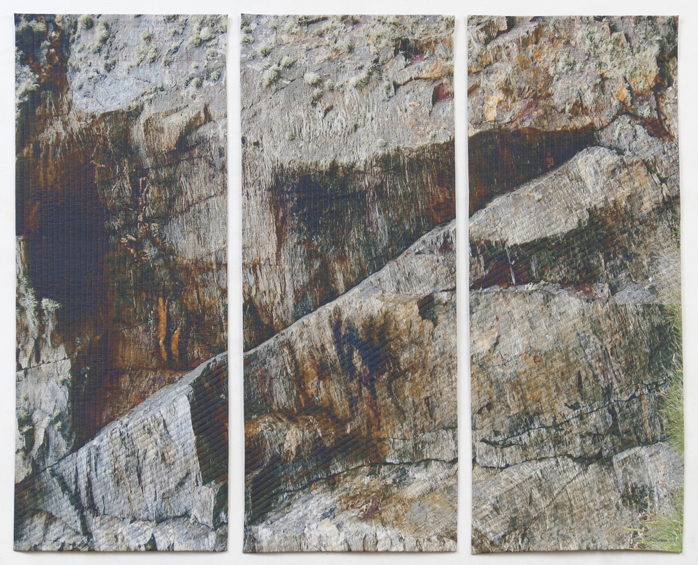 Gray Rock Triptych