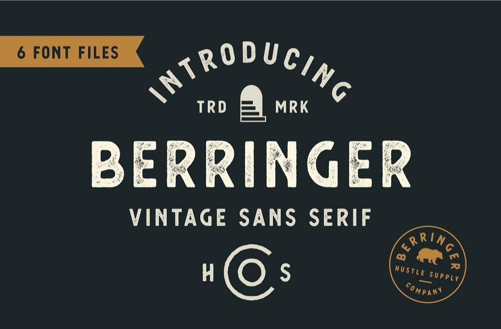 Berringer - Vintage Sans