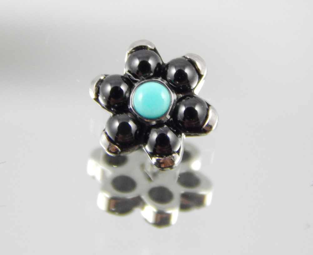 Genuine Black Onyx & Synthetic Turquoise