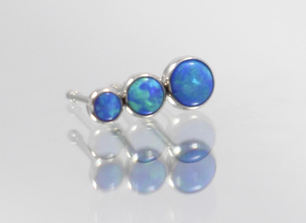 capri blue opal