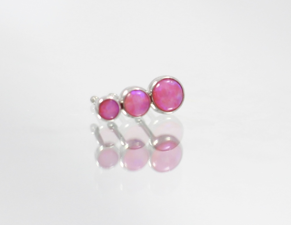 hot pink opal