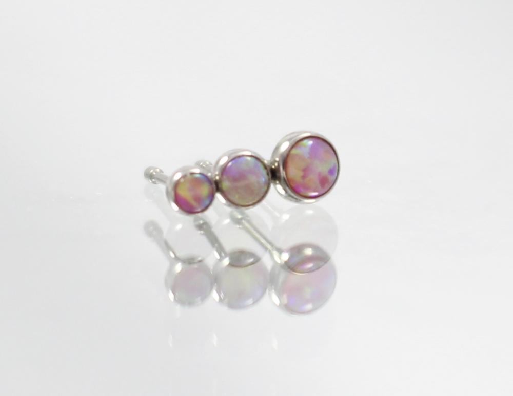 bubble gum pink opal