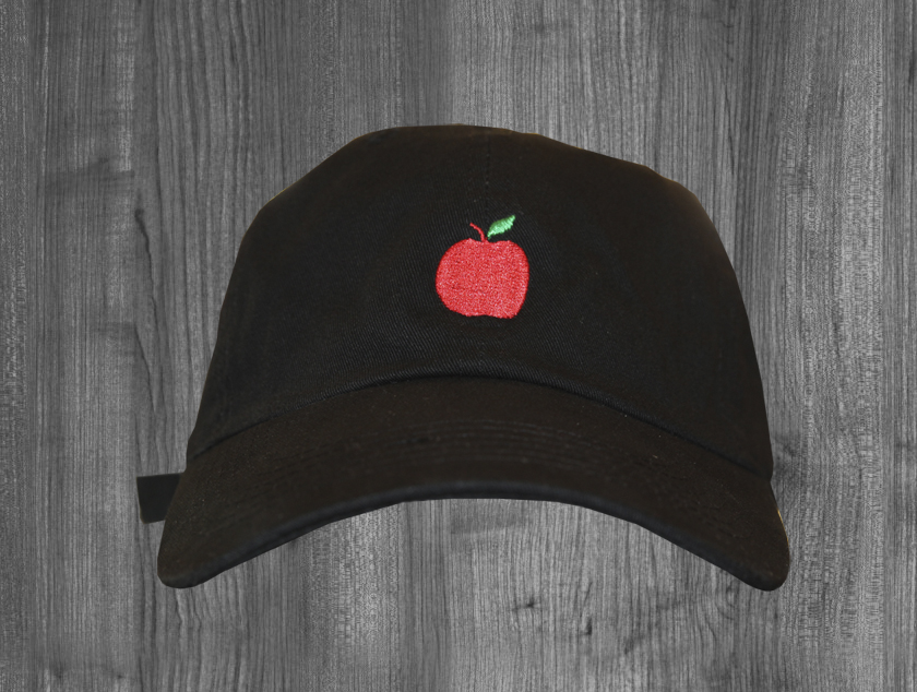 APPLE curved brim BLK.jpg