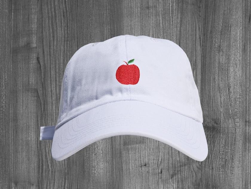 APPLE dad hat WHITE RED GREEN.jpg