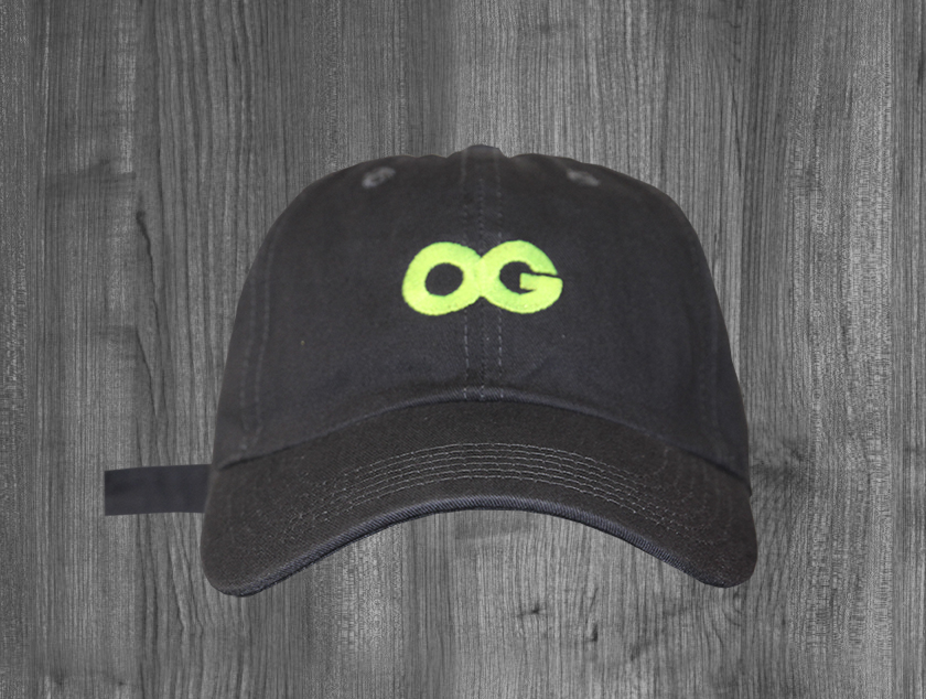 OG dad hat CHARCOAL. NEON YELLOW.jpg