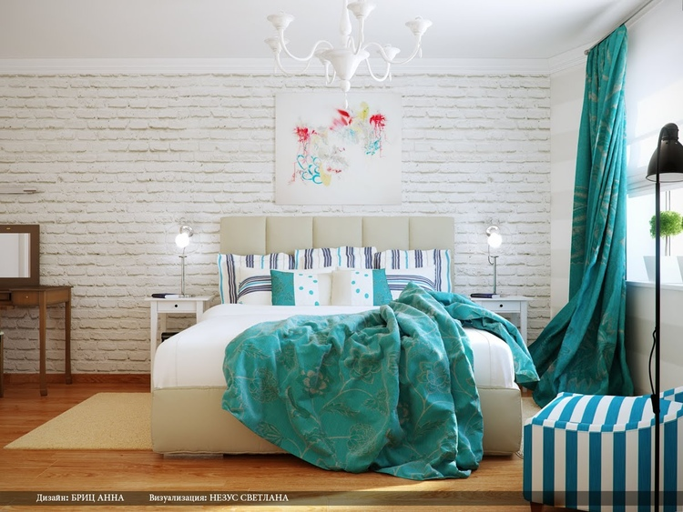 White Bedroom With Pop Of Color a pop of color — a kaleidoscopic mind