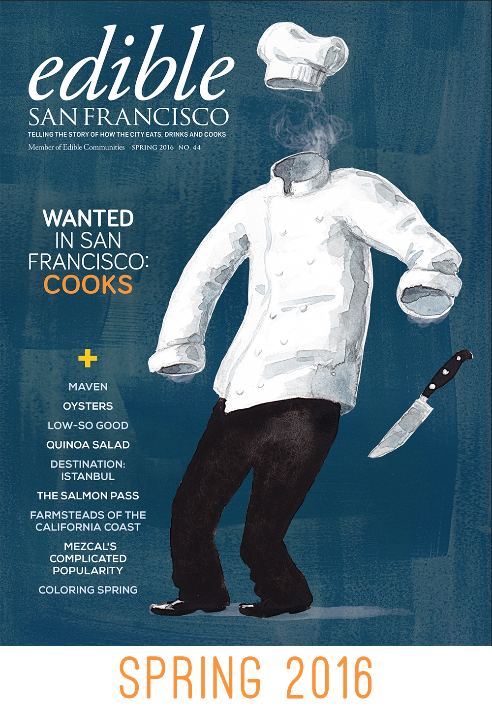 Edible SF, Spring 2016 Edition