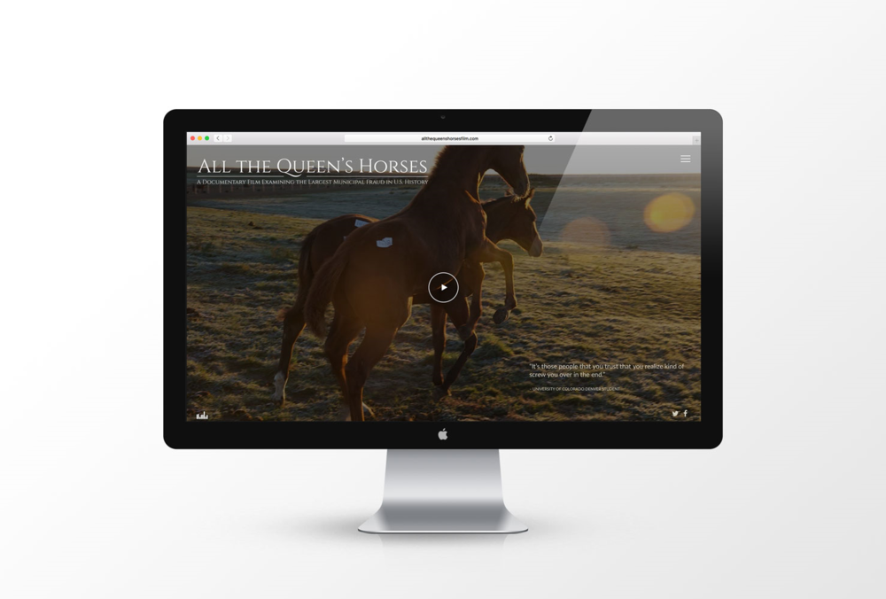 All the Queen's Horses Documentary - Visit Website →