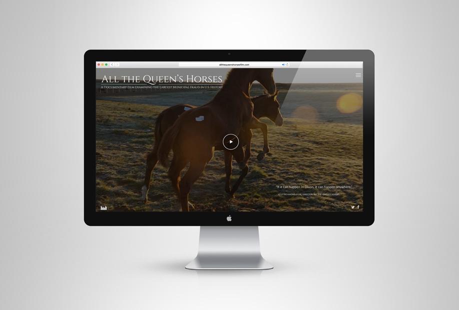 Visit the film's website: www.allthequeenshorsesfilm.com.