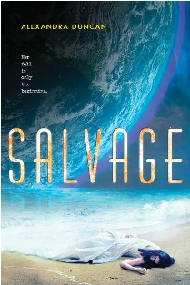 A signed copy of Salvage.