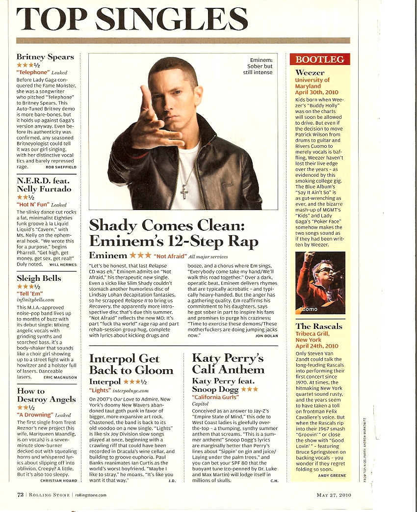 Rolling Stone, Issue 1105, May 27, 2010