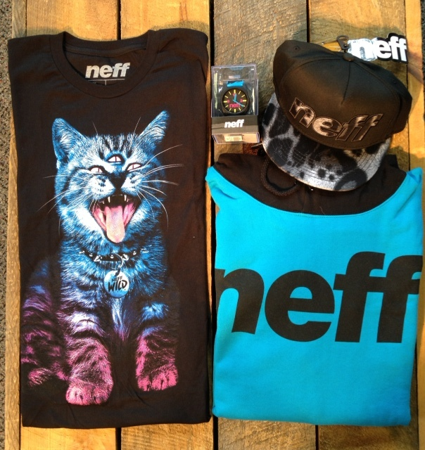 A new selection from Neff has arrived, come see what zany looks they have going this season.