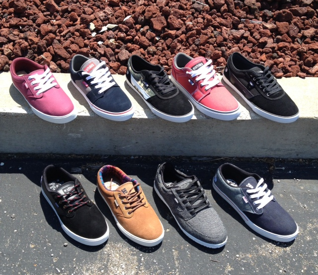 Etnies came through with some great end of summer kicks. Stop by and check out how soft these new SolTech insoles are!