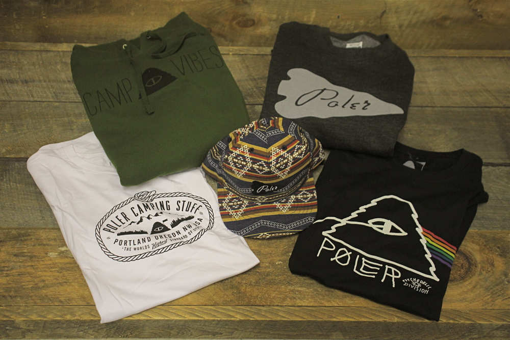 All new apparel from Poler Stuff has arrived at W3, come in and check out what we have.