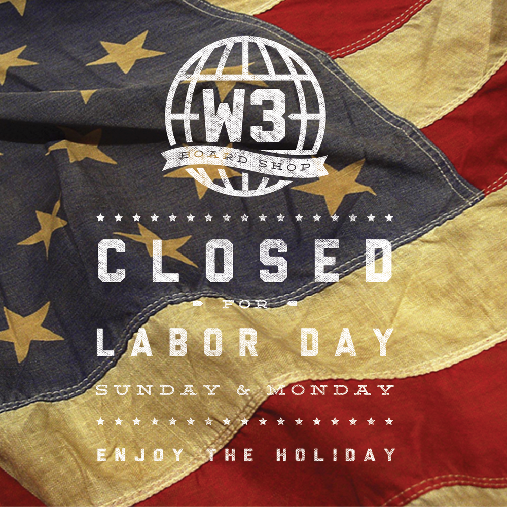 We're sorry we are closed for the next couple days, but its time to enjoy the benefits of our labors this holiday.
