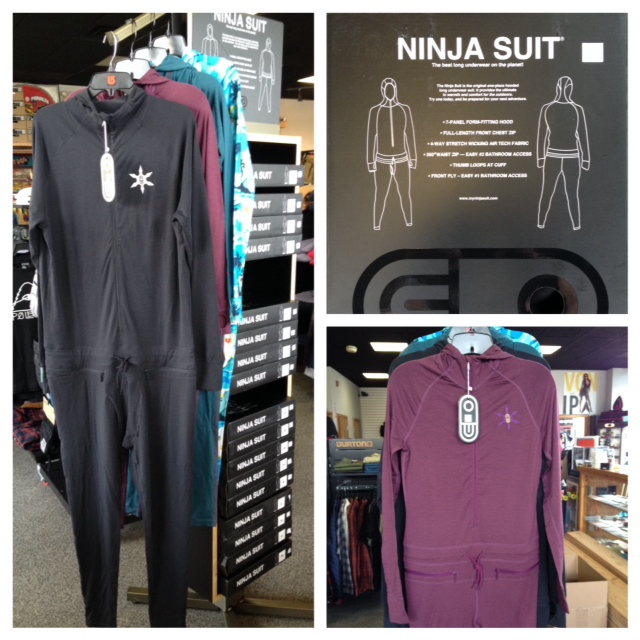 W3 proudly presents Ninja Suits from AIRBLASTER.All sizes and colors available, Ninja Suit.....The best long underwear on the planet.