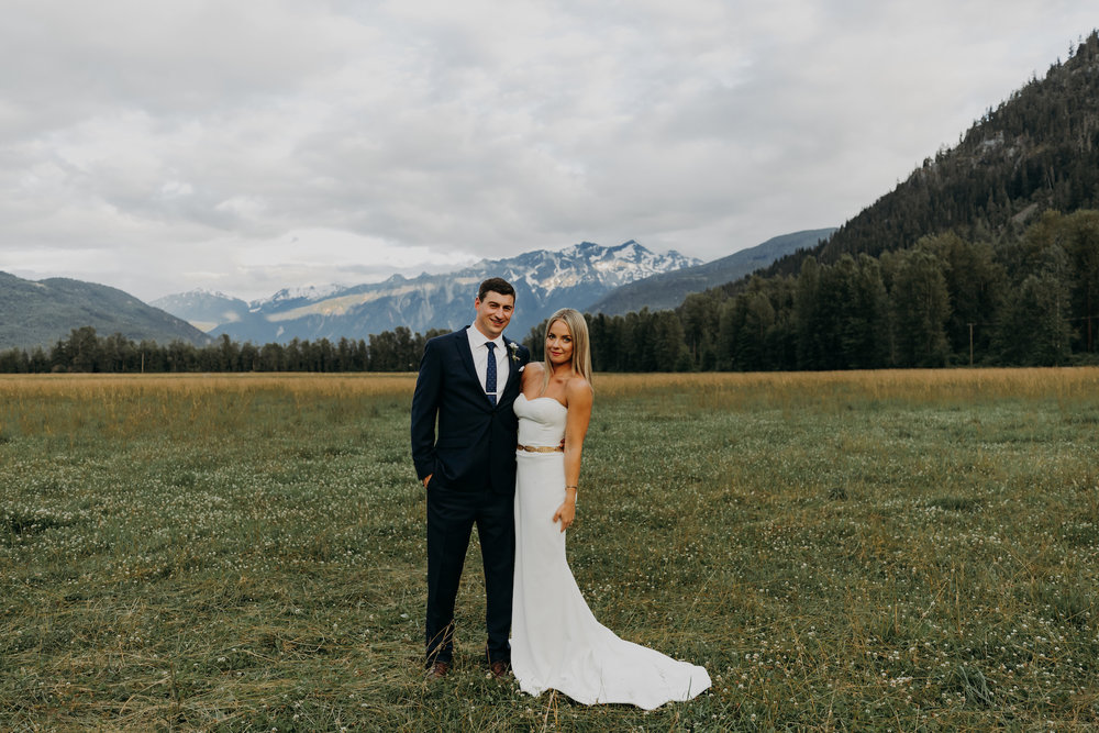 Pemberton and Whistler Wedding