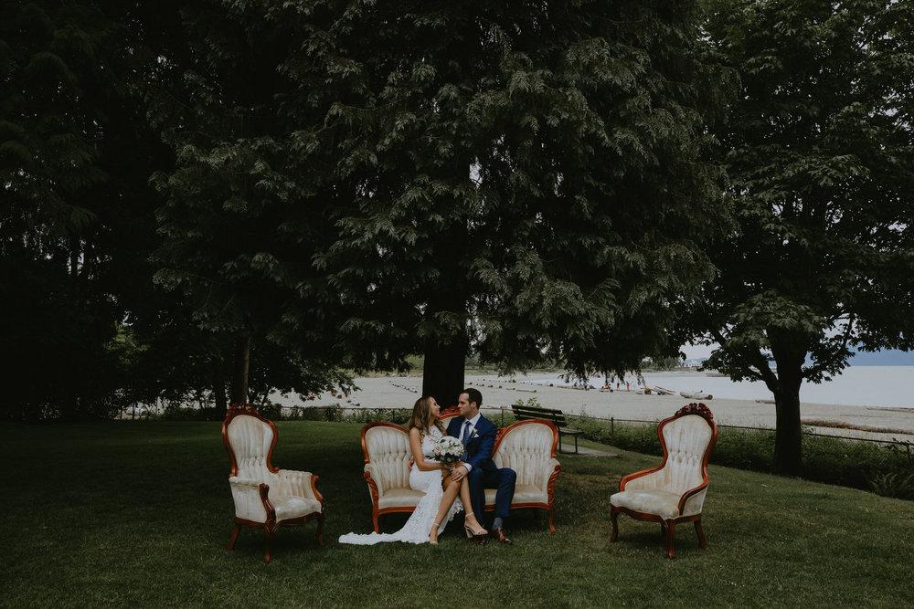 Elegant Vancouver Wedding - Vancouver Destination Wedding Photographer