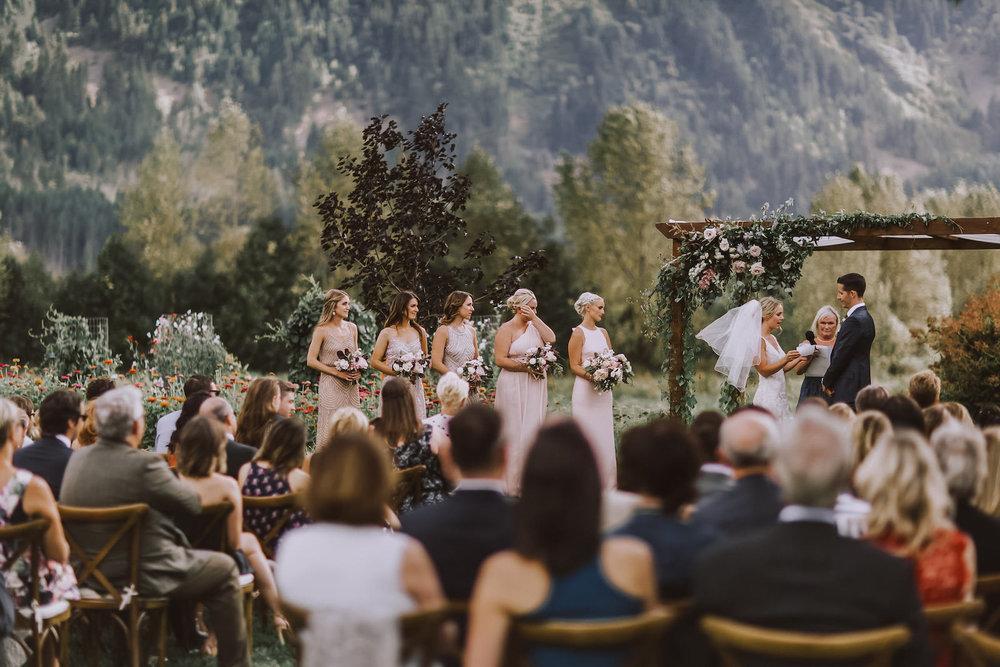 North Arm Farm Wedding - Pemberton Wedding Photographer