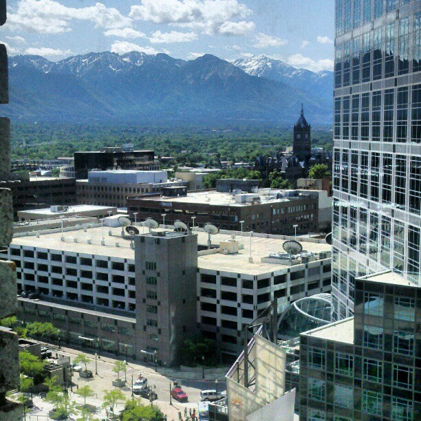 Downtown #slc #utah (Taken with  instagram )