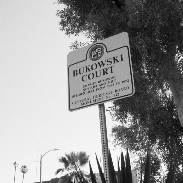 Bukowski  (Taken with  instagram )