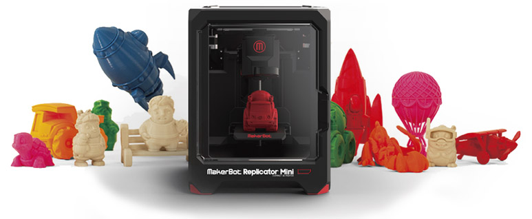 Official Distributor of Makerbot