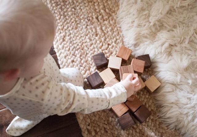 Natural Wood Blocks Set