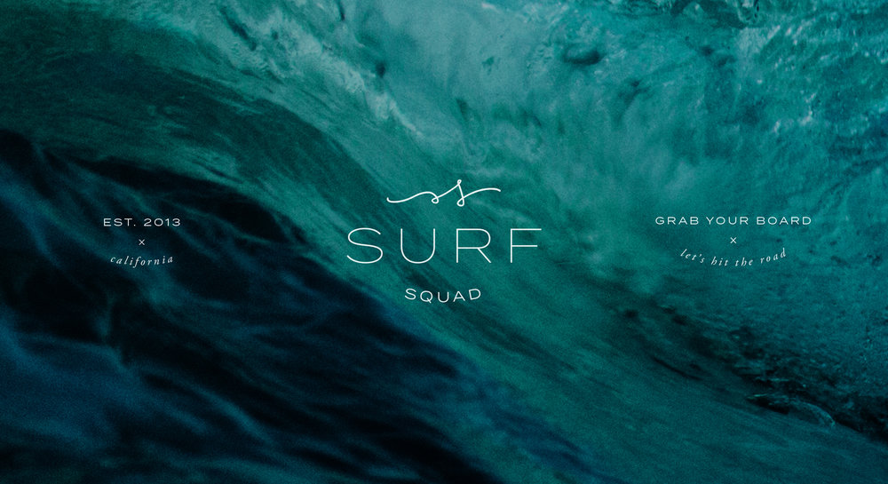 Surf Squad - branding by Spirit & Haven