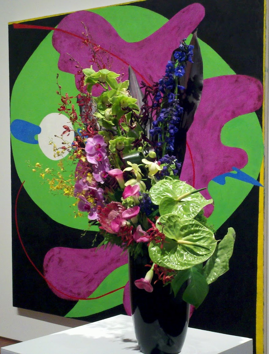 | My 2012 Art in Bloom entry |