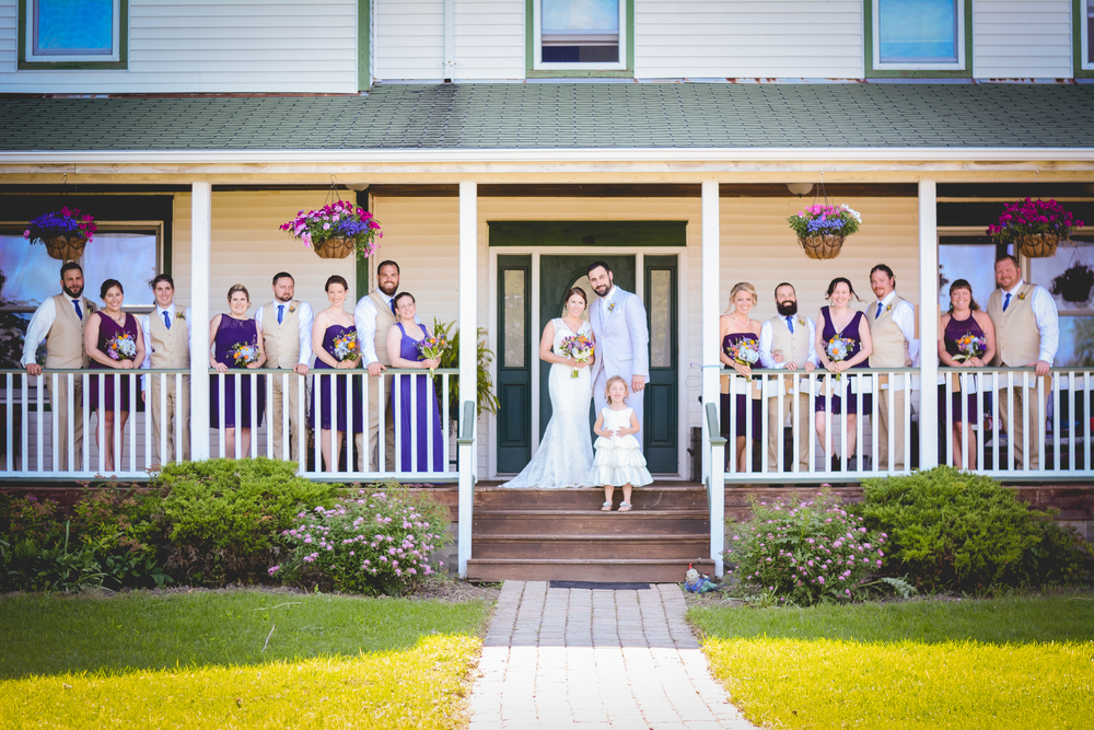 Farm house wedding