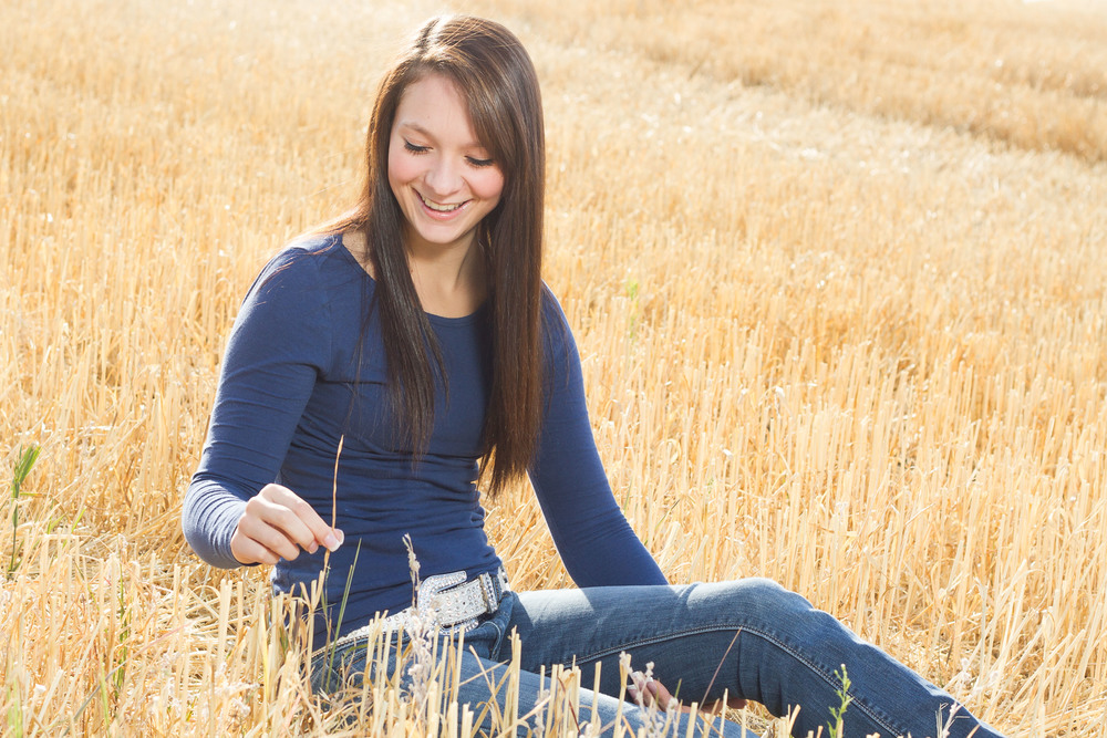Country Senior Pictures Spokane Washington