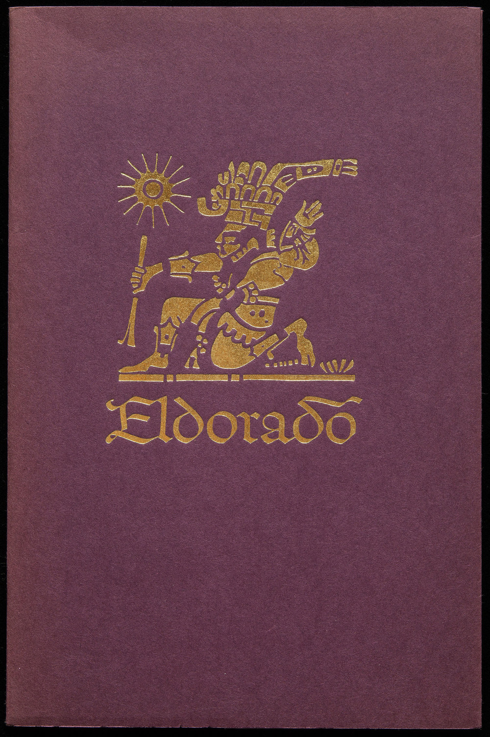 Eldorado  type specimen booklet, Mergenthaler Linotype, Brooklyn, 1953, 14 x 21 cm