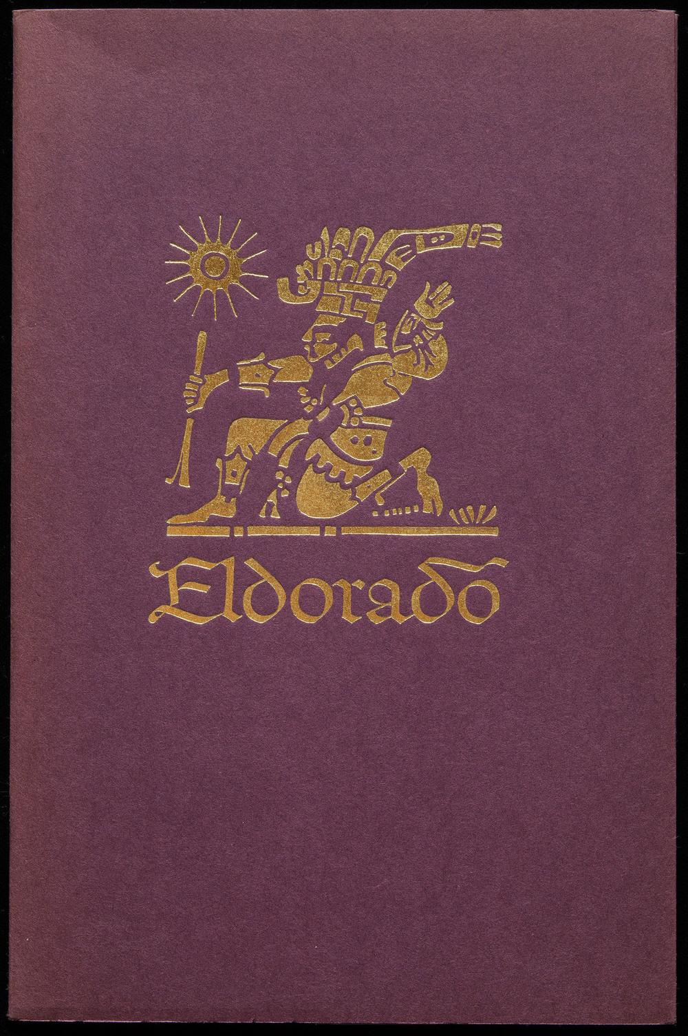 Eldorado type specimen booklet, Mergenthaler Linotype, Brooklyn, 1953, 14 x 21 cm