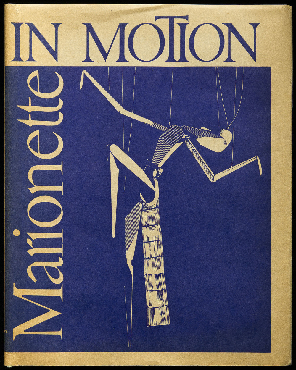 Marionette In Motion , Puppetry Imprints, Detroit, 1939, 15.2 x 19.7 cm