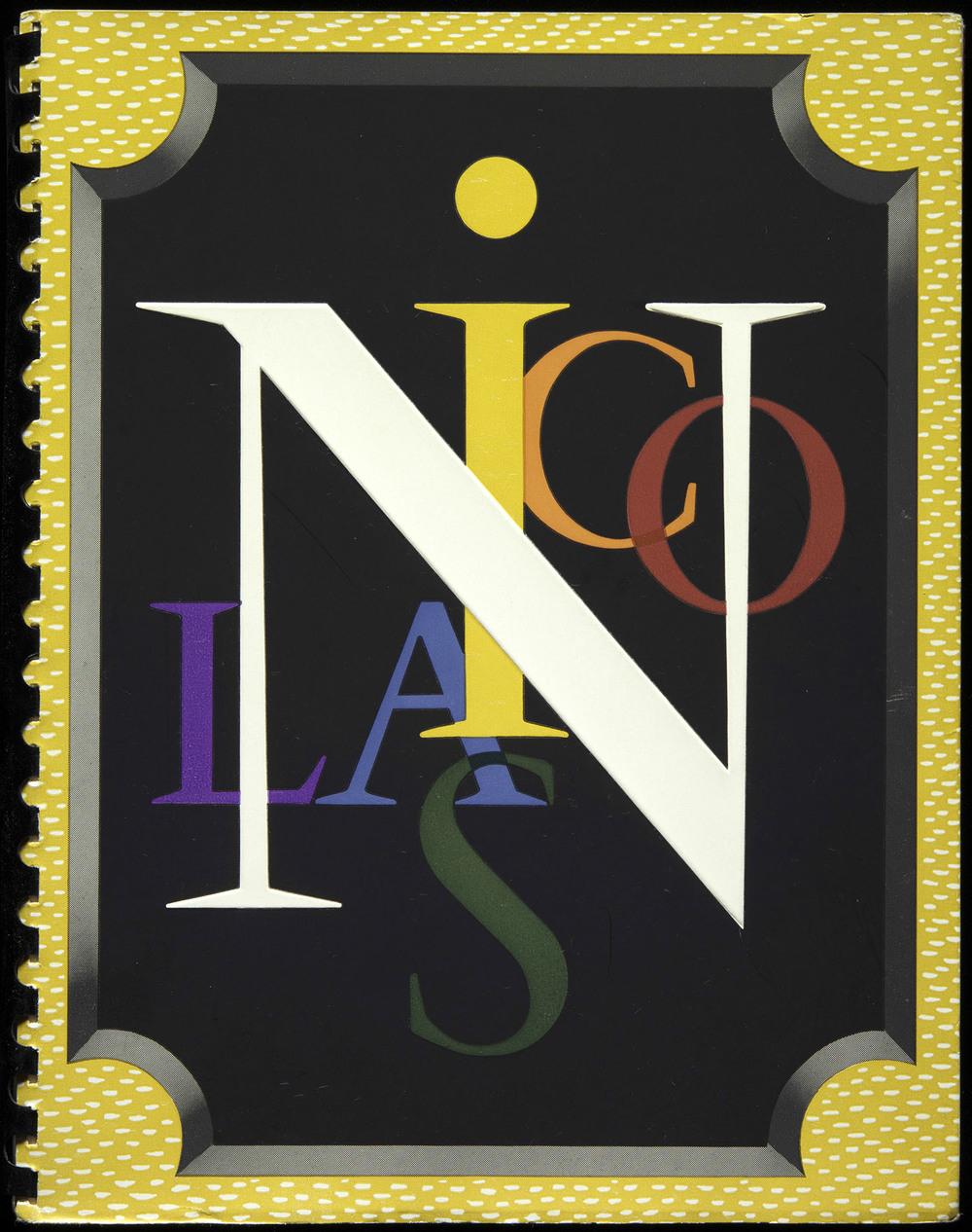 Cassandre, Nicolas wine catalog, Paris, 1936, 19 x 24 cm