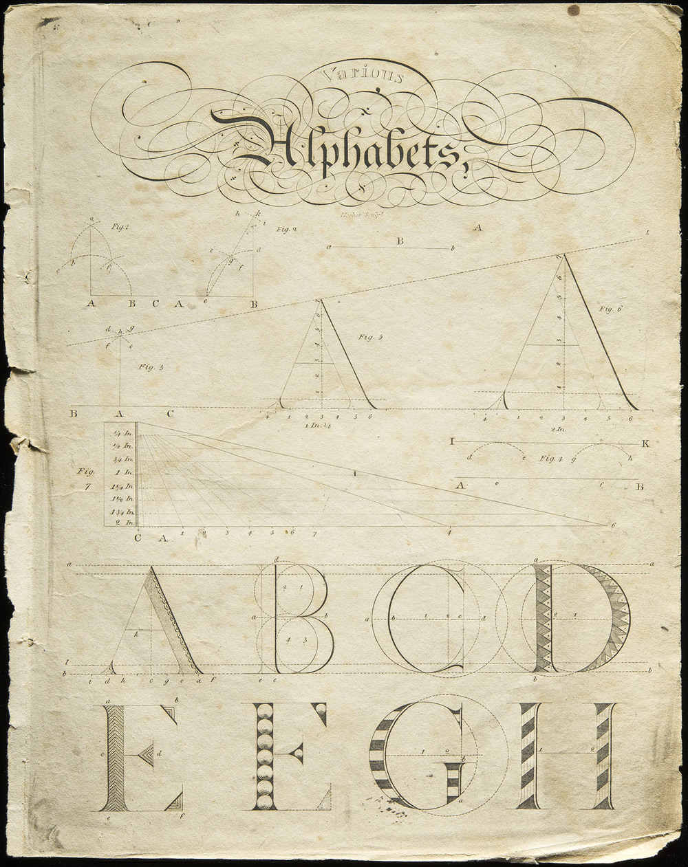 Henry Dean,  Dean's Analytical Guide to the Art of Penmanship , Joshua Cushing, Salem MA, 1804, 21 x 27 cm