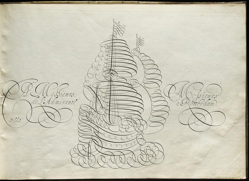 Jan van den Velde,  Spieghel der Schrijfkonste , Rotterdam, 1605, 32 x 23 cm