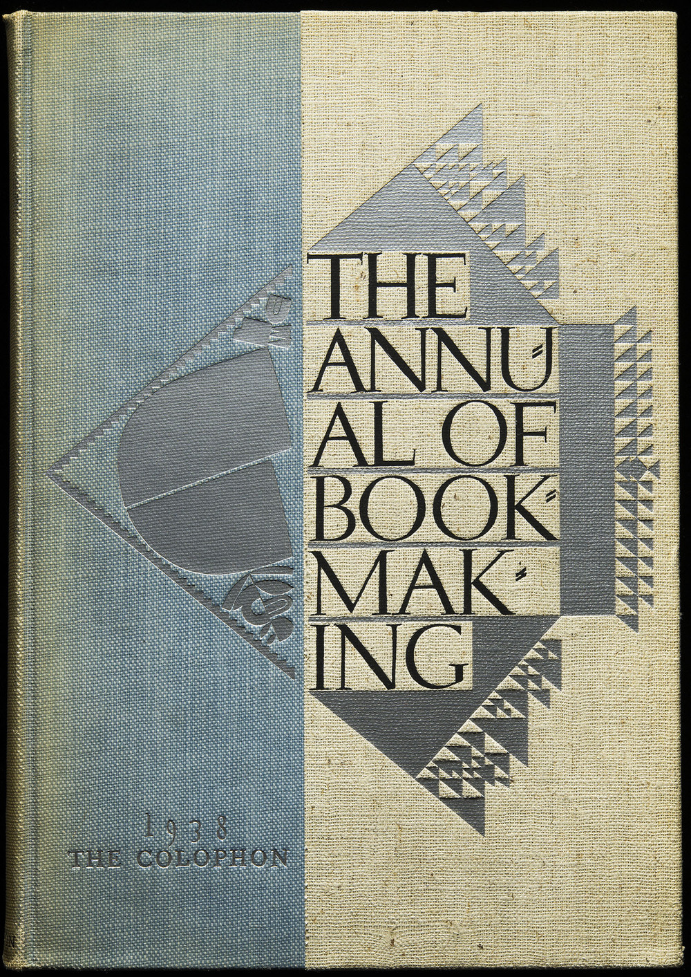 The Annual of Bookmaking , The Colophon, New York, 1938, 18.4 x 27.3 cm